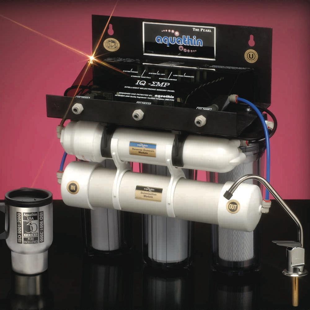 Aquathin PEARL 30 RO/DI water purification system