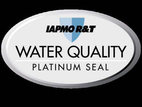 IAPMO Platinum Water Seal