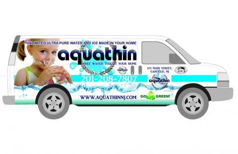 Aquathin North Jersey Service Van