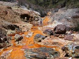 polluted stream, chemical runoff