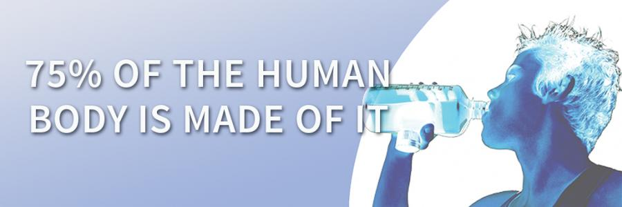 75% of the human body is made of it